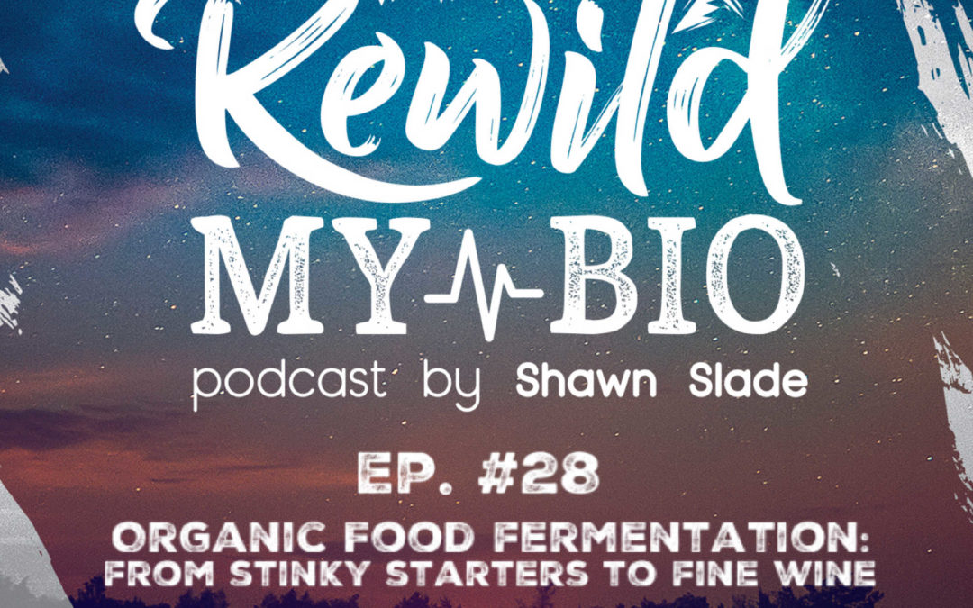 Ep. 28 Organic Food Fermentation: From Stinky Starters to Fine Wine