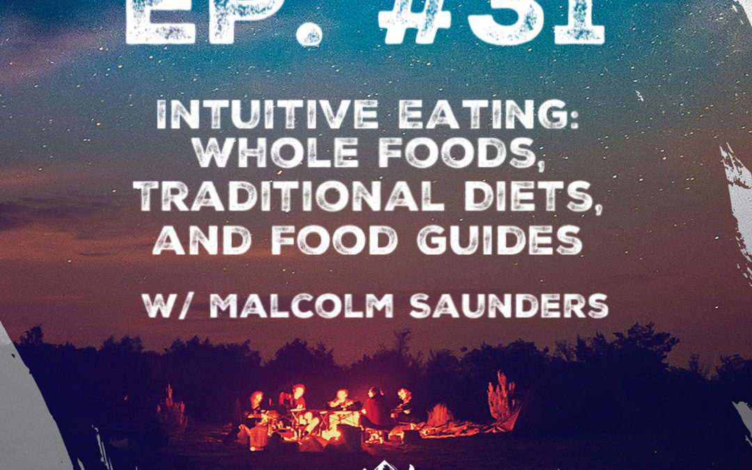 Ep. 31 Intuitive Eating: Whole Foods, Traditional Diets, and Food Guides w/ Malcolm Saunders of The Light Cellar