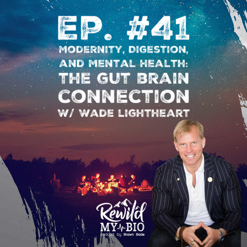 Wade Lightheart Bioptimizers awesome health podcast gut brain connection rewild my bio